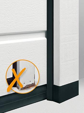 гаражные секционные ворота с термоизоляционной коробкой помогают