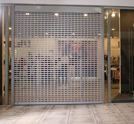 Роллетные решетки для бутика